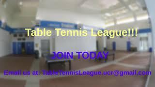 Table Tennis League Promotional Video