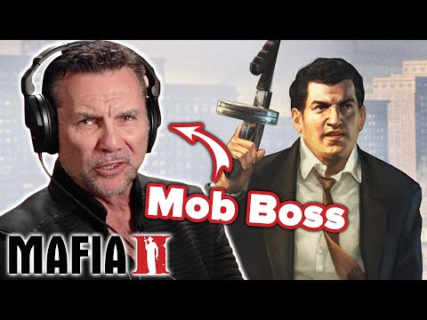Ex-Mob Boss Plays Mafia 2 • Professionals Play