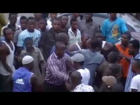 fight in lagos nigeria gas station