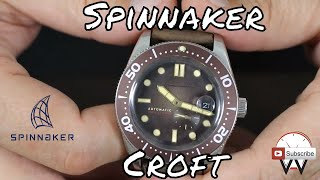 Vintage Style Dive Watch Review: Spinnaker Croft SP-5058-02