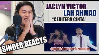Jaclyn Victor and Lah Ahmad CERITERA CINTA AJL22 ( 2007 ) | REACTION YouTube Videos