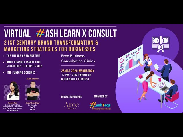 Virtual HASH Cross-Border LearnXConsult 28 October 2020: Business Consultation Session