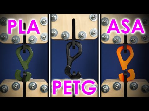 The BEST 3D printing material? Comparing PLA, PETG & ASA (ABS) - feat. PRUSAMENT by Josef Prusa