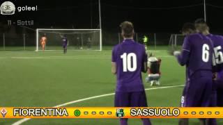 Viareggio Cup ottavi - Sassuolo vs Fiorentina (Tutti i rigori)