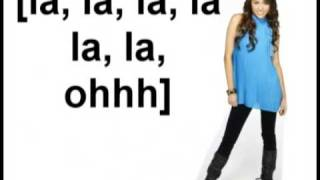 Hannah Montana [S3] - Lets Get Crazy - Lyrics On Screen