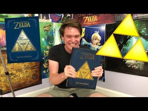 """""""Zelda Nerd"""" Reacts to The Legend of Zelda Encyclopedia!!!"""