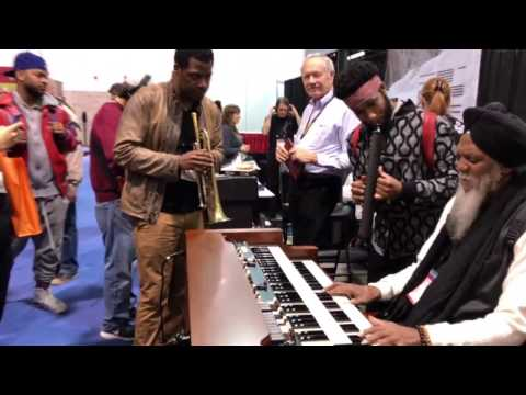 Dr. Lonnie Smith and Cory Henry jam (pt.1)