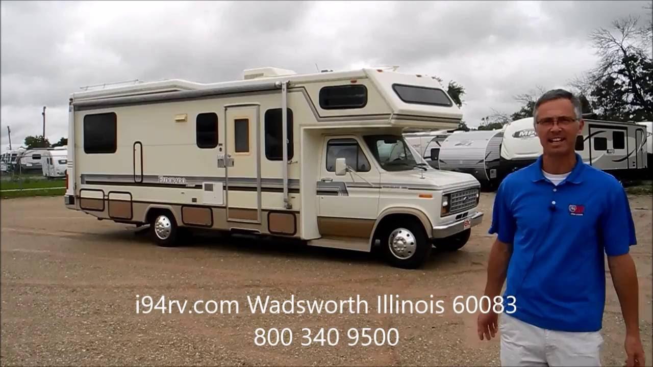 *SOLD* i94rv com 1989 Eldorado Class C RV Camper Motor Home