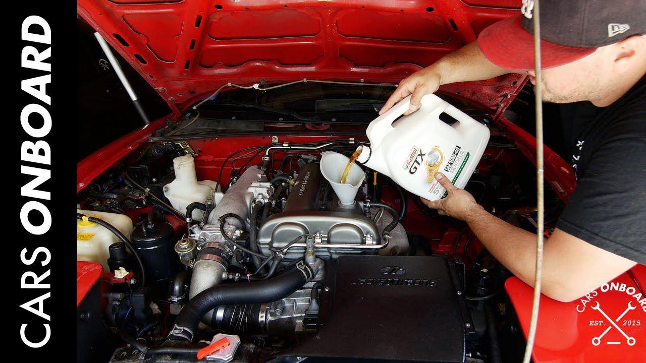 small resolution of miata oil change tricks tips project miata ep010