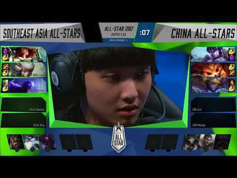 SEA vs  CN Group Stage 2017 All Star Event Southeast Asia vs