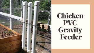 Automatic Chicken Gravity Feeder