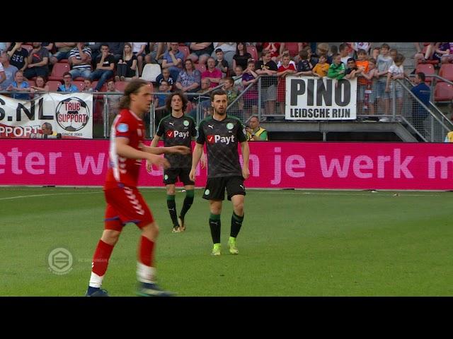 Michael Breij debuteert bij FC Groningen