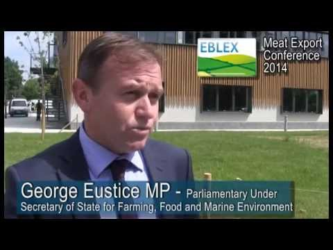 George Eustice MP - Parliamentary Under Secretary of State for Farming, Food and Marine Environment