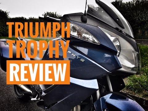 2016 triumph trophy review - youtube