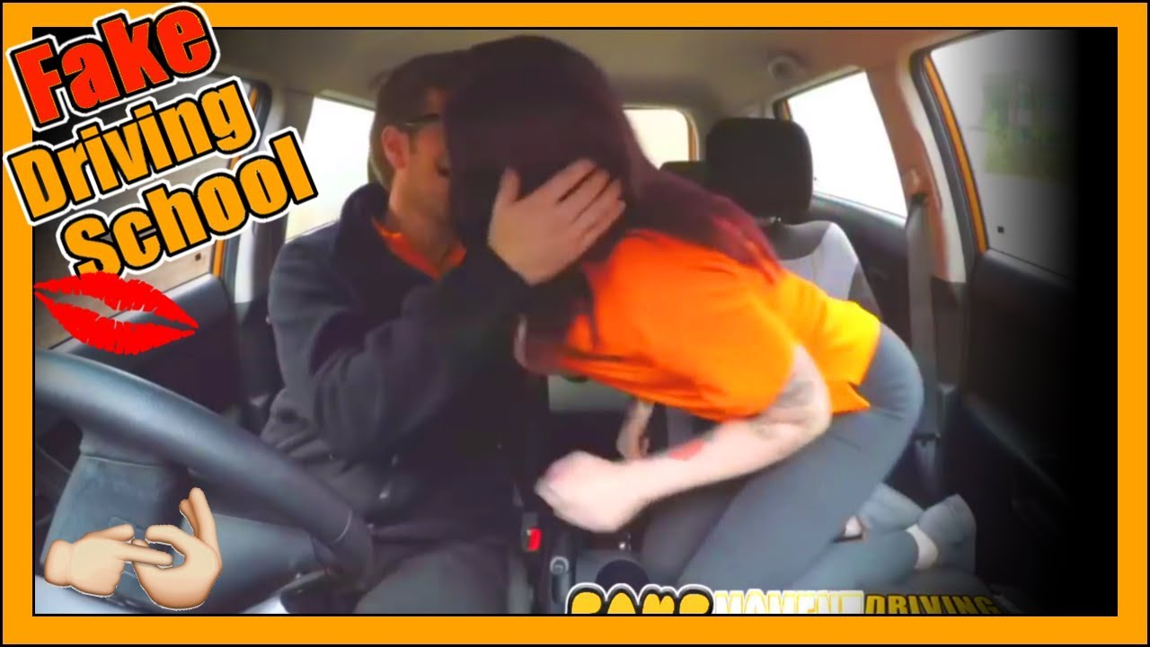 Fake driving school instructor fucks and creampies sexually frustrated redhead - 2 3