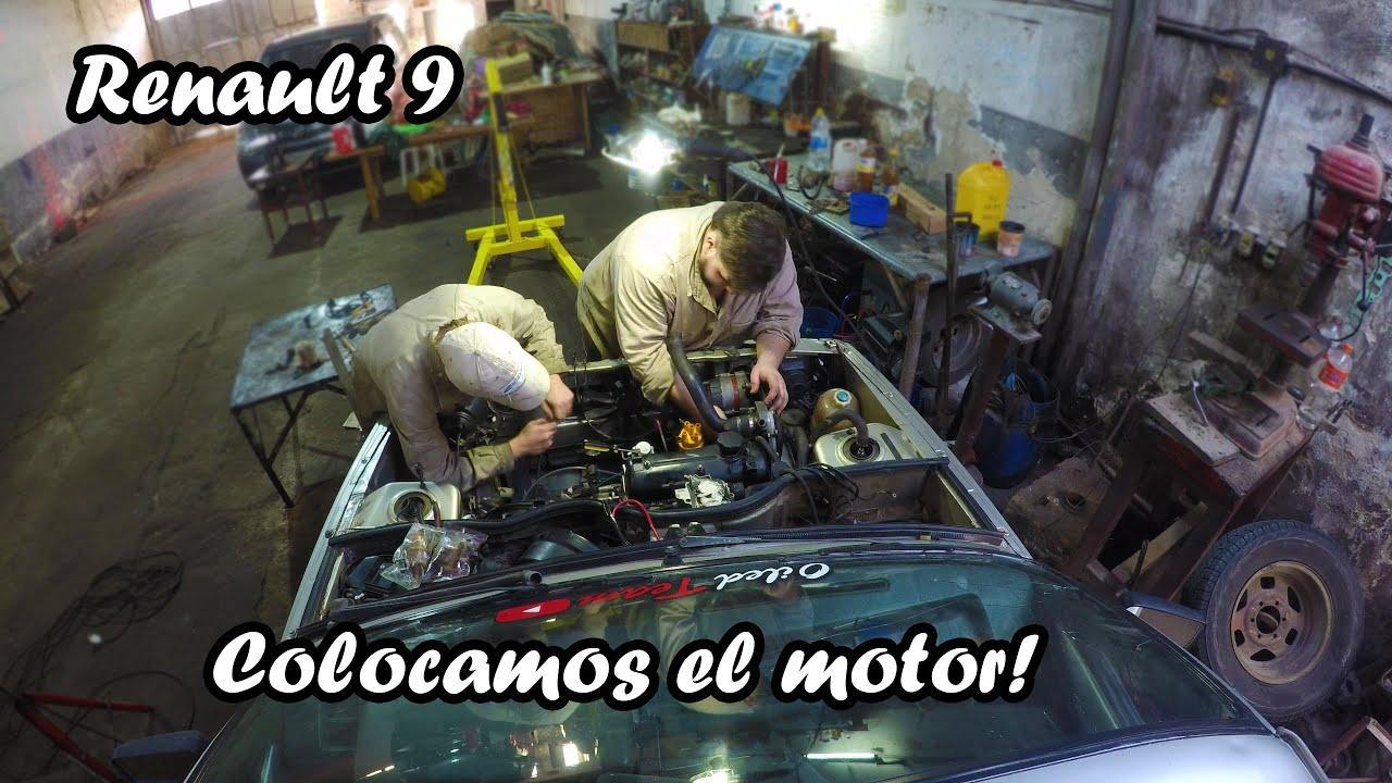 COLOCANDO MOTOR / Renault 9 - Oiled Team