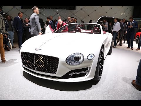 Bentley: TOP SUPERCAR Geneva Motor Show 2017