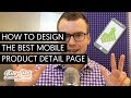 How to Design the Best Mobile Product Detail Page (8 Bullet-Proof Tips)