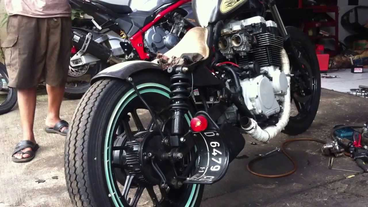 Honda Cbx 650 Nighthawk First Start Up After 1years At