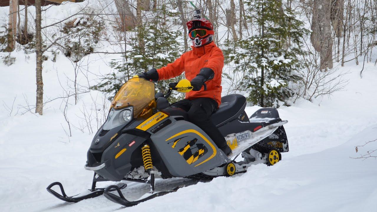 GoPro HERO 3+ : Ski-Doo Freestyle 300 & Honda 400ex - Sled ...