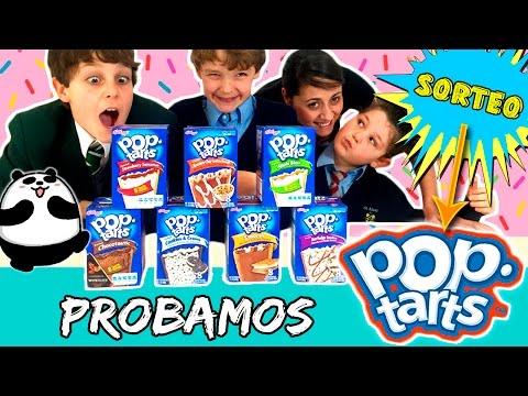 Probando POP TARTS * ¡SORTEO de 7 sabores de Pop Tarts!