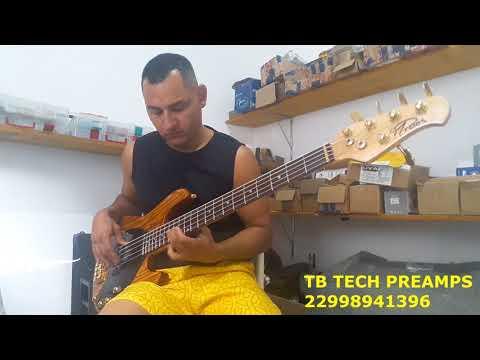 JAZZ BASS X MUSIC MAN TB TECH PREAMPS