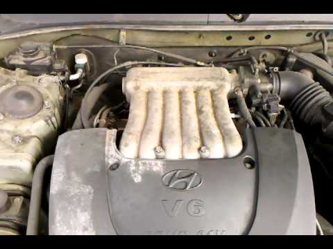 2000 Hyundai Sonata Engine Demonstration Lot 82 Youtube