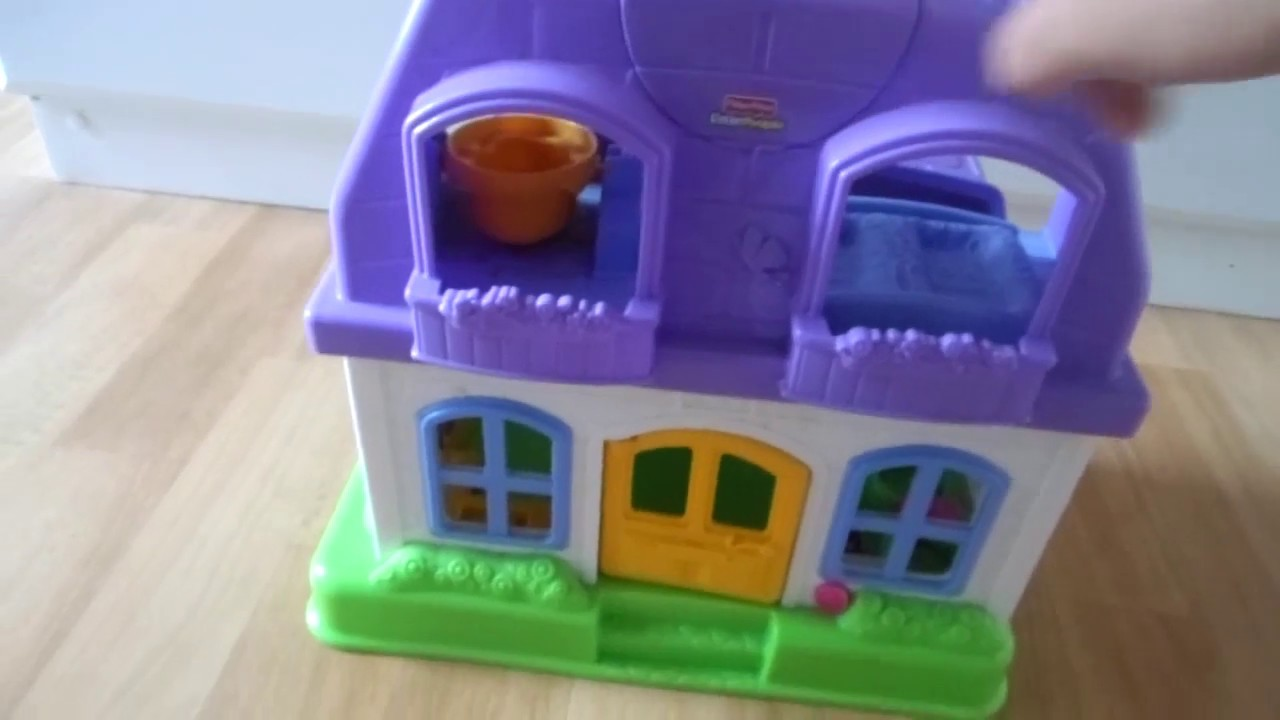 Fisher Price Little People Happy Sounds Home Musical Doll S House