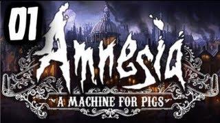 """CZEMU STRYCH...?! - """"Amnesia: Machine for Pigs"""" #01 - Zagrajmy z Esem!"""