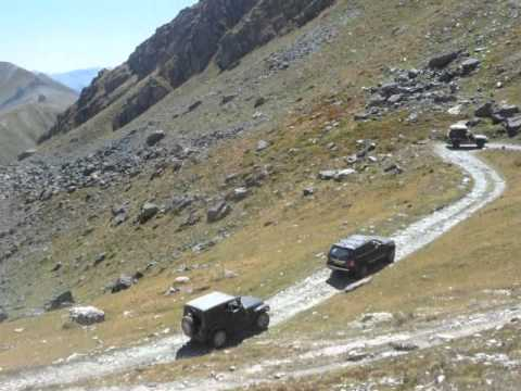 Maritime Alps 4x4 offroad overland adventure tour - Lost World Adventures