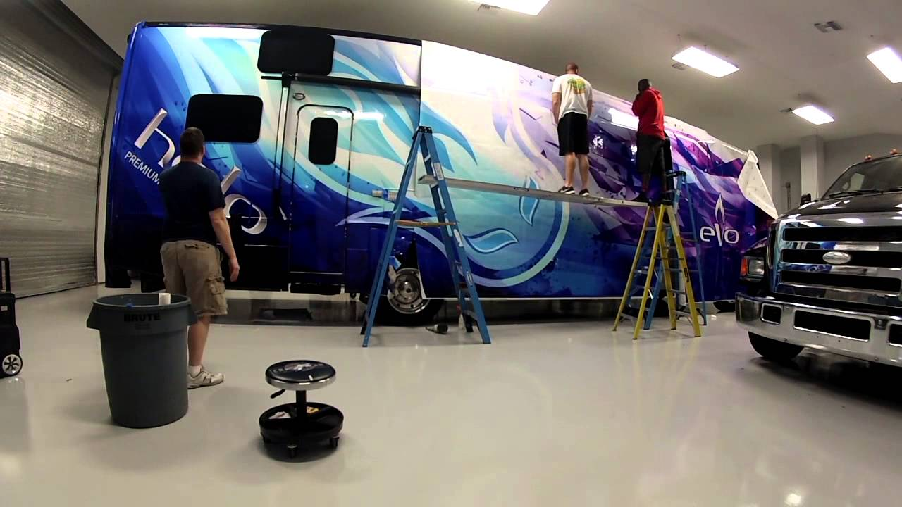 Nicopure Rv Full Wraps The Wrappros Bb Graphics