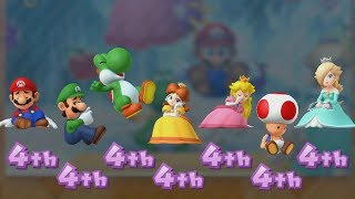 Mario Party 10 - All Characters - Coin Challenge #7