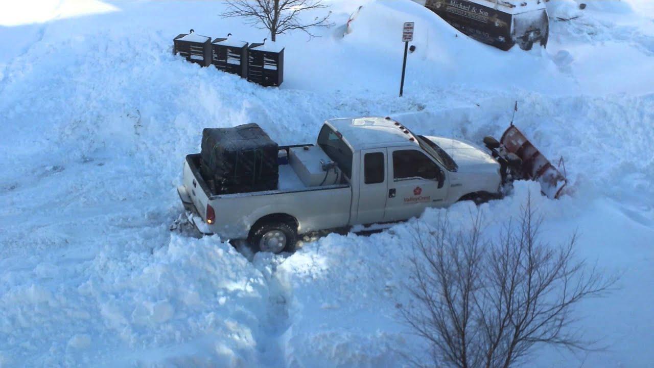 CPS 01-24-2016 Snow Truck Got Stuck