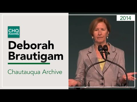 Deborah Bräutigam - China in Africa: Think Again