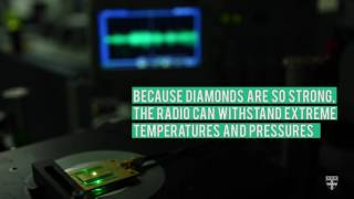 A diamond radio receiver thumbnail