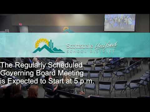 Scottsdale Unified School District Governing Board Meeting 1-16-18