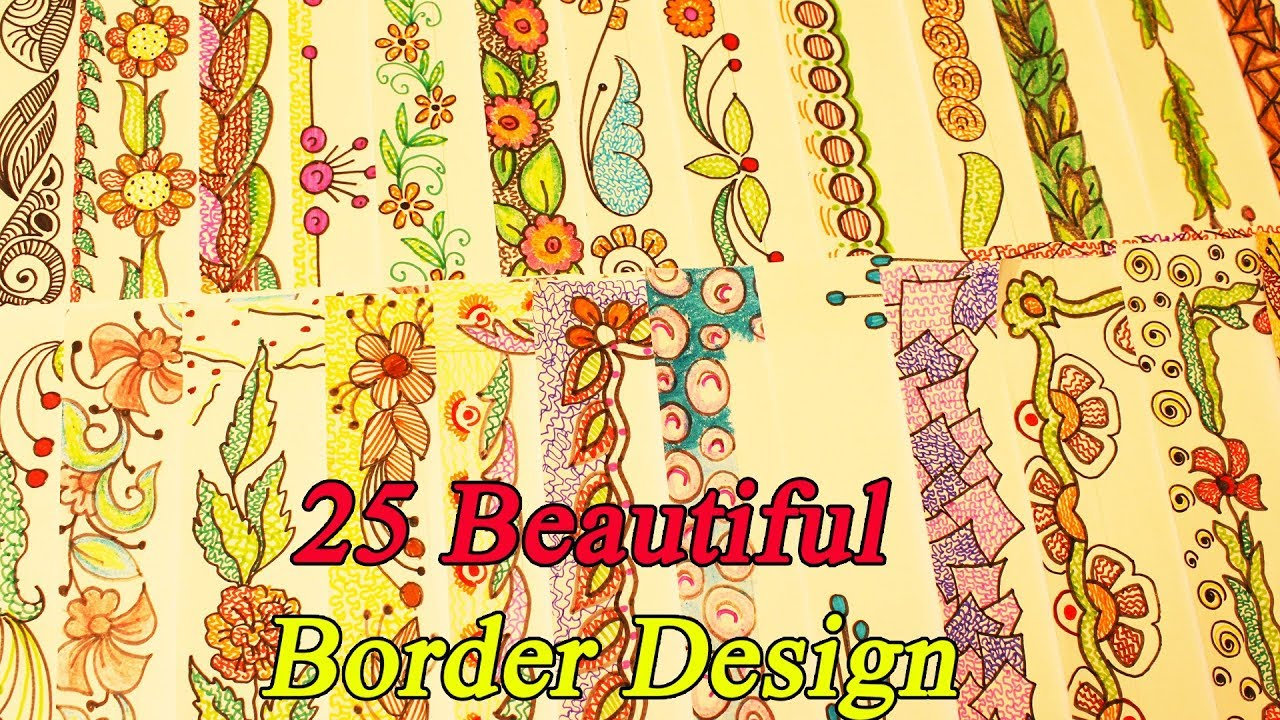 Frames And Borders Photo Frames 25 Beautiful Border Design For
