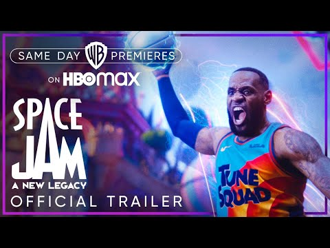 Space Jam: A New Legacy   Official Trailer   HBO Max