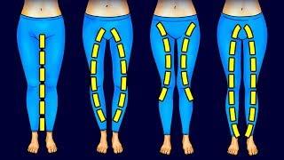 3 упражнения, которые подойдут для вашей формы ног и сделают их подтянутыми