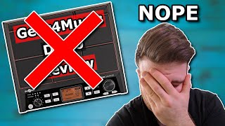 There Will Be No Gear4Music DD90 Digipad Sampler Review - Here's Why   dbdrums nPad / HXW PD-705