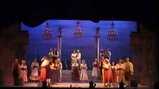 The GONDOLIERS ~ Act 1 Finale- Quartet and Final Chorus