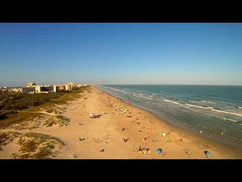 Over Lori Wilson Park Cocoa Beach New Years Day 2017