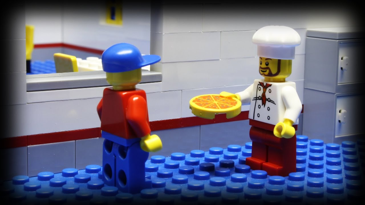 Lego Pizza Delivery 5   YouTube