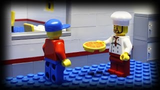 Lego Pizza Delivery 5(The epic fifth episode of the pizza delivery series. People are getting pretty desperate to get a taste of pizza... and some people have a large appetite., 2014-01-10T13:57:19.000Z)