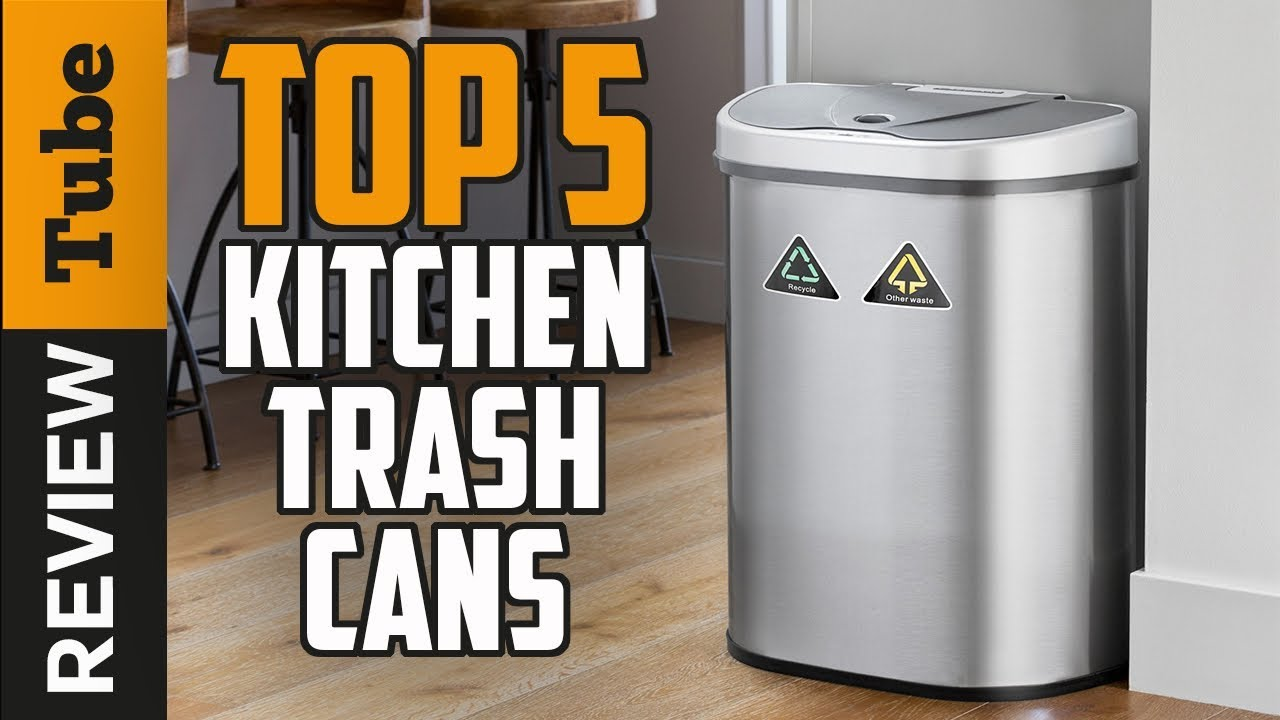 ✅Trash Can: Best Kitchen Trash Can (Buying Guide)