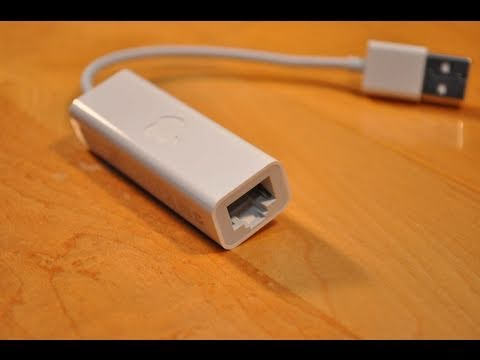 Apple Usb Ethernet Adapter Unboxing And Demo Youtube
