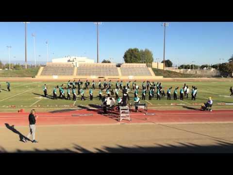 Orange Cove High School Marching Band 2015