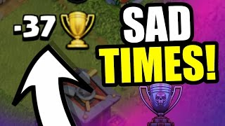 WHY I HATE THE LEGENDS LEAGUE IN CLASH OF CLANS!!