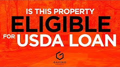 Gavino Real Estate - How to know if a property is eligible for USDA LOAN Elegibility