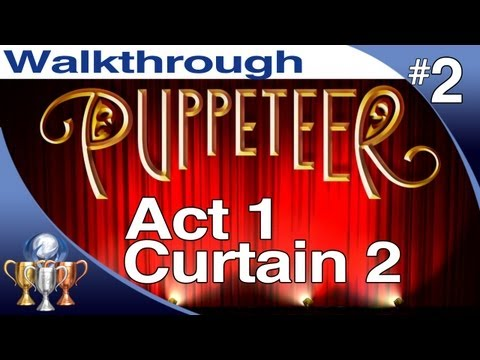 Puppeteer Walkthrough - Act 1 Curtain 2 (Stolen Away) PS3 Gameplay Playthrough